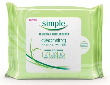 Simple Cleansing Facial Wipes Review