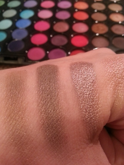 Coastal Scents and Maybelline Tough as Taupe