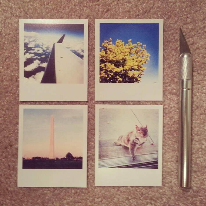 Instagram Photos turned into Polaroids