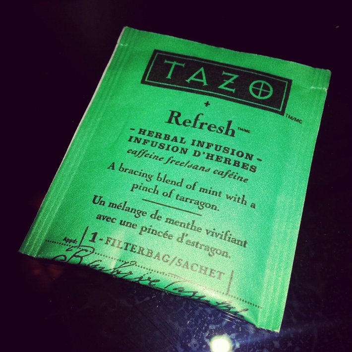 Tazo Refresh Tea review