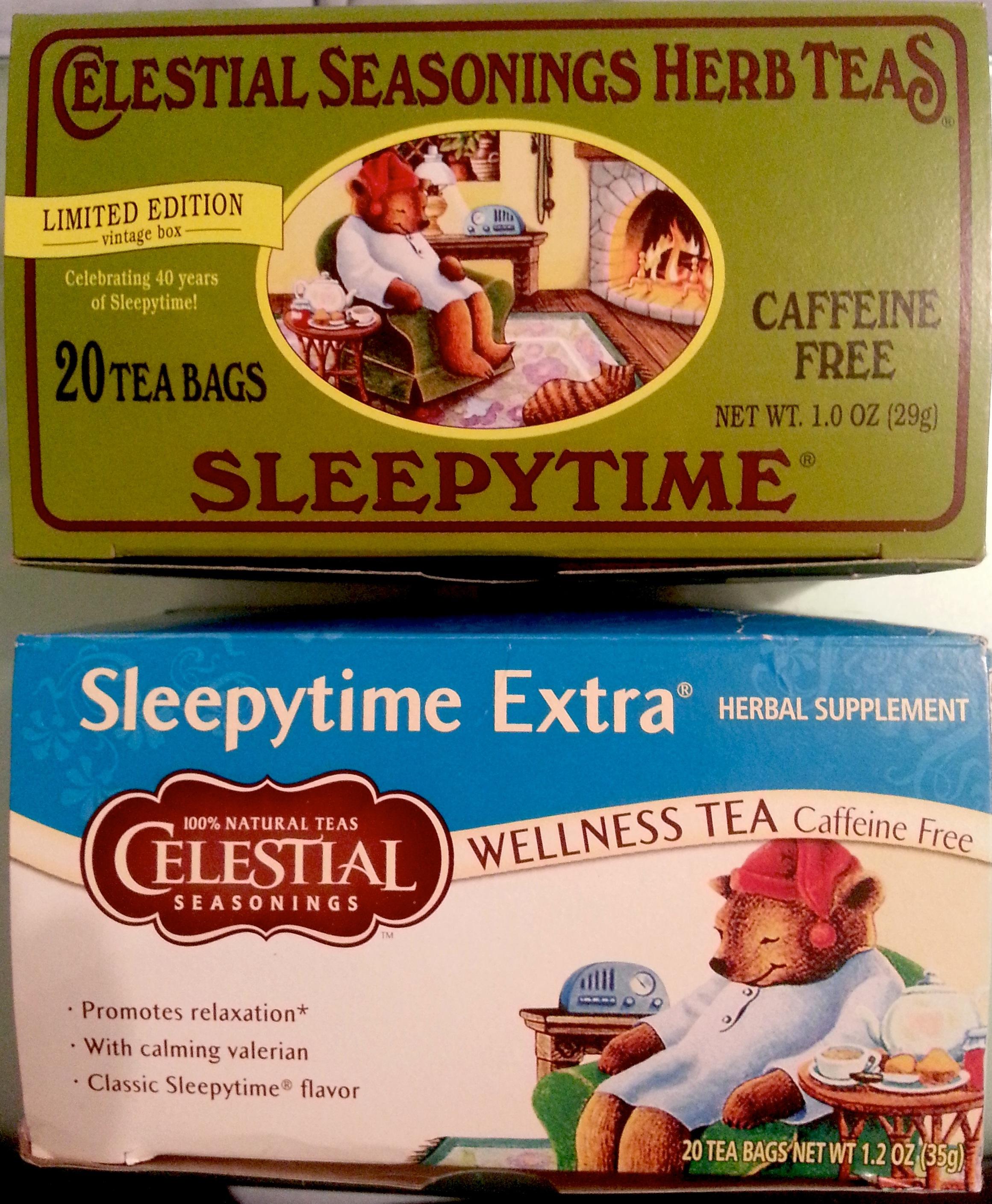 celestial seasonings sleepytime tea | burgesslinds