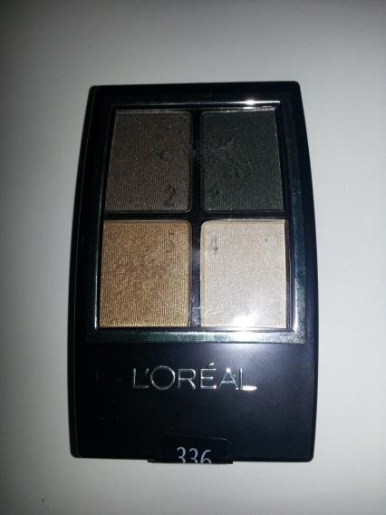 loreal eyeshadow quad forrest