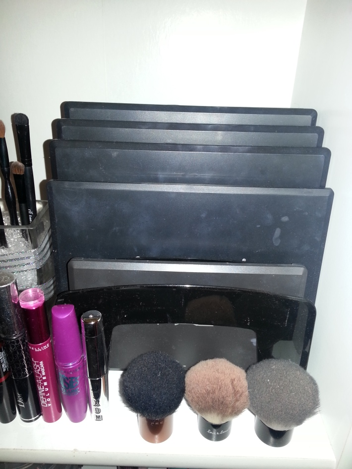 Eyeshadow Palette Storage